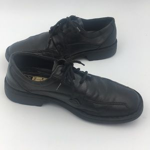 Josef Seibel Men's Black Oxfords Shoes Sz 43 or 10